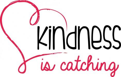 Kindness Is Catching logo - Feel Good Feb